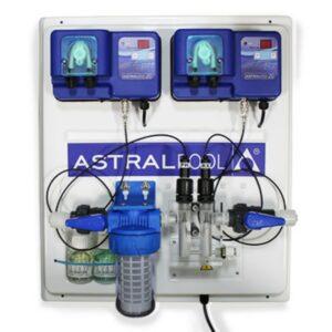 Quadro di regolazione ASTRALPOOL con pompe peristaltiche Cloro e pH