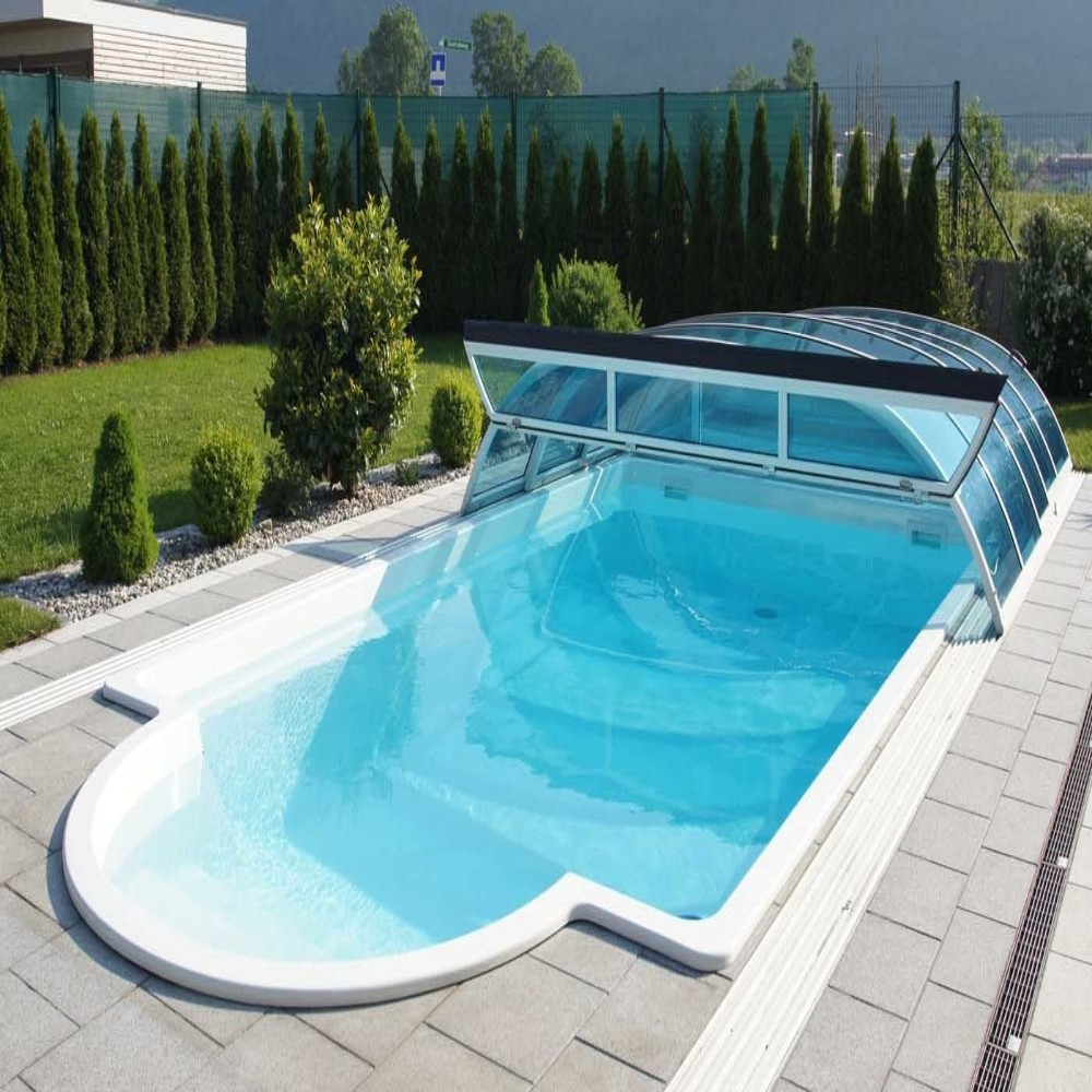 Piscina in vetroresina prefabbricate interrata mod elba 62 misure cm 3 30 x 6 20 x h1 53 - Piscina interrata in vetroresina ...