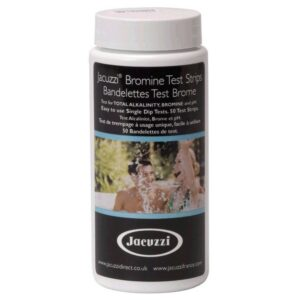 Tester Jacuzzi Bromine/Bromo Test Strip Confezione Da 50 Pezzi