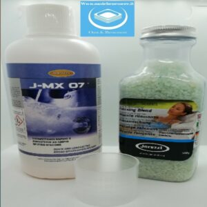 Kit disinfettante J-MX 07 più sali Mar Morto